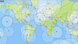 antennas satellite surveillance maritime