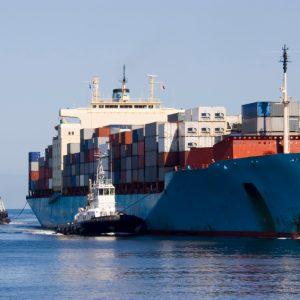 Ship Entering Port