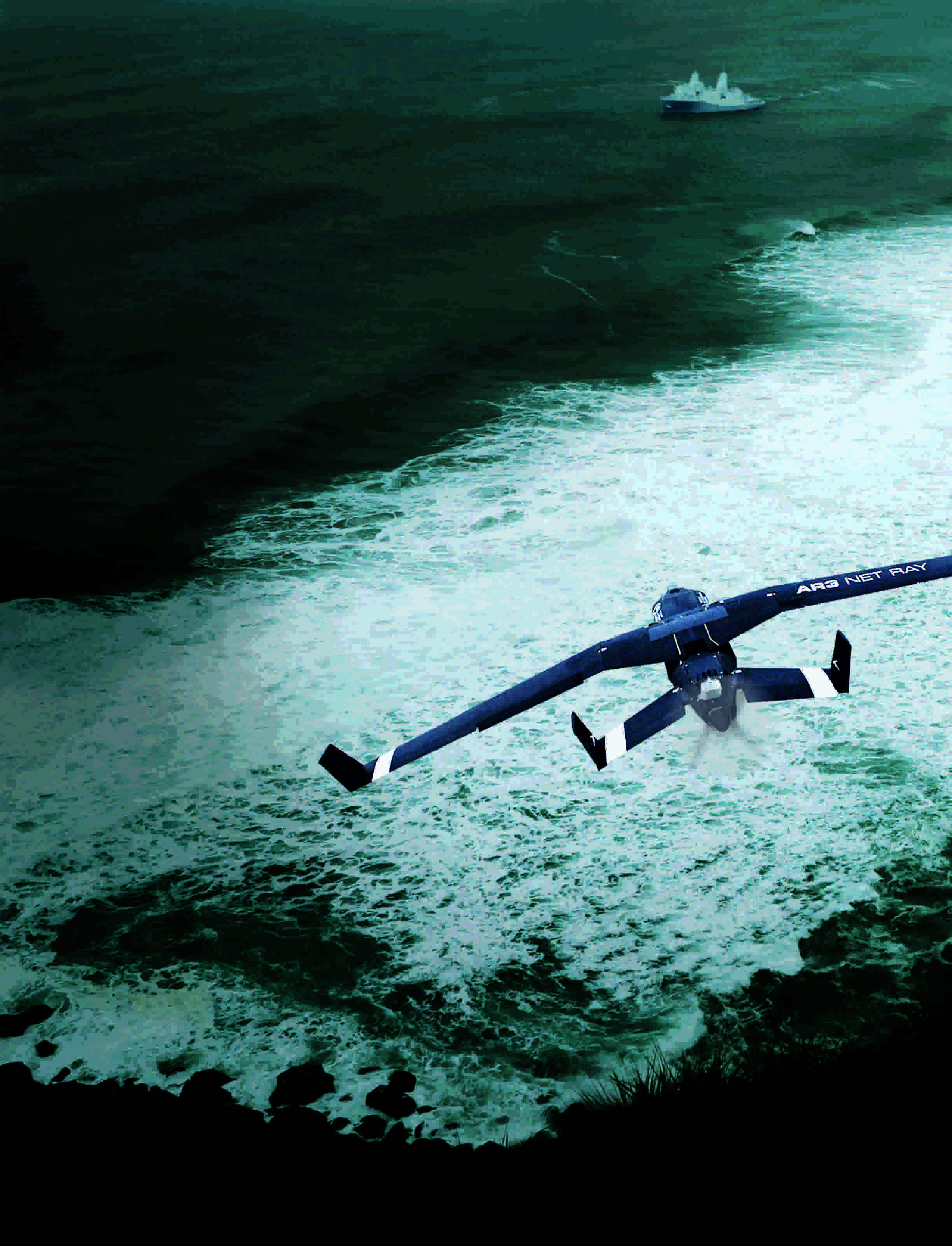 Drones and maritime surveillance