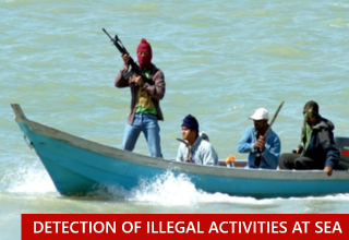 Detection of illegal activities at sea MAS