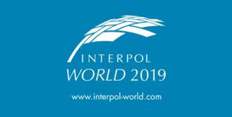 Interpol World 2019 logo