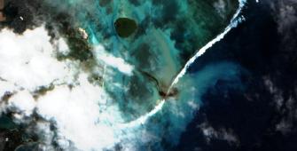 marine pollution in Mauritius