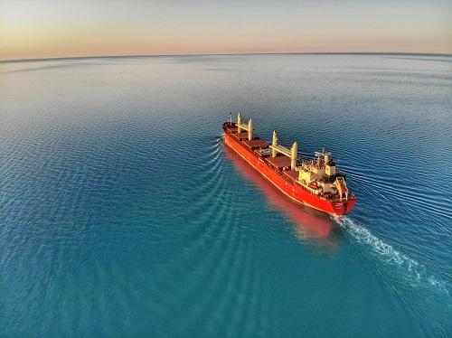 ship at the sea