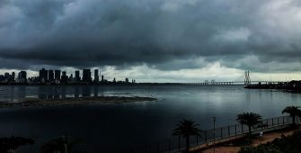 Mumbai Tautkae storm